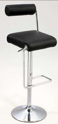 Chintaly 0979ASBLK  Bar Stool