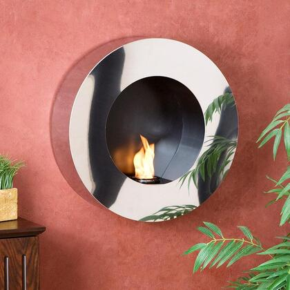 Holly & Martin 37026058434 Wall Mountable Gel Fuel Fireplace