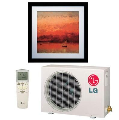 LG LA126HNP Mini Split Air Conditioner Cooling Area,