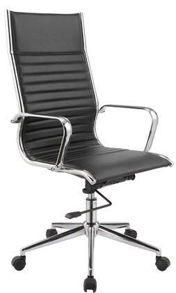 "VIG Furniture VGLFWX15BLK 22"" Adjustable Modern Office Chair"