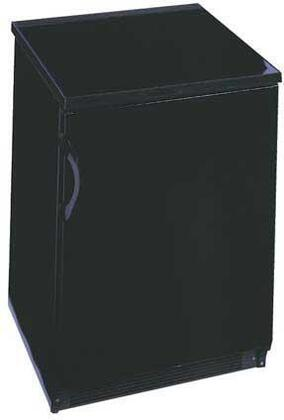 Summit FF7BACKEYPAD  Compact Refrigerator with 5.5 cu. ft. Capacity in Black