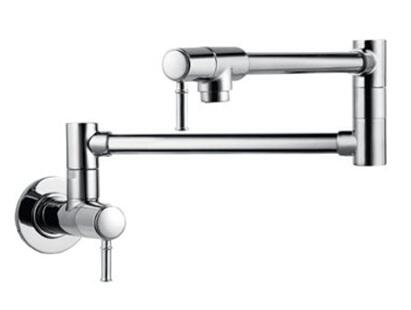 Hansgrohe 4218 Double Handle Wall Mounted Pot Filler Faucet from the Talis C Collection: