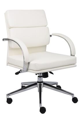 "Boss B9406WT 28"" Adjustable Contemporary Office Chair"