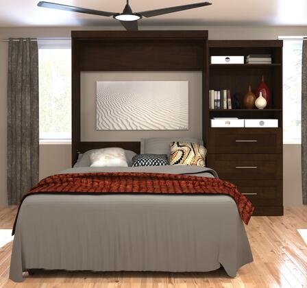 "Bestar Furniture 26881 Pur by Bestar 101"" Queen Wall bed kit"