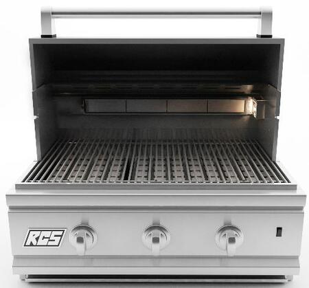 RCS RON27ALP Built In Grill, in Stainless Steel