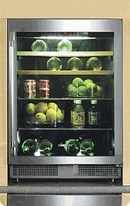 """Dacor EF24RBCSS 23.625"""" Built In Wine Cooler 