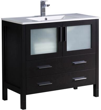 "Fresca FCB6236XXX Torino 36"" Modern Bathroom Cabinet with Vessel Sink  in"