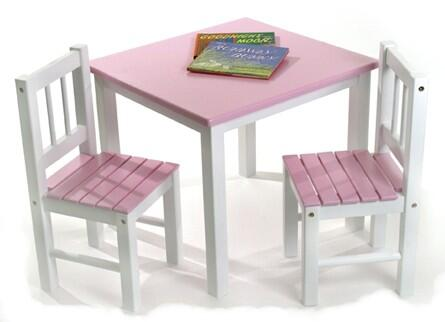 Lipper Kids 513X Table with Chair
