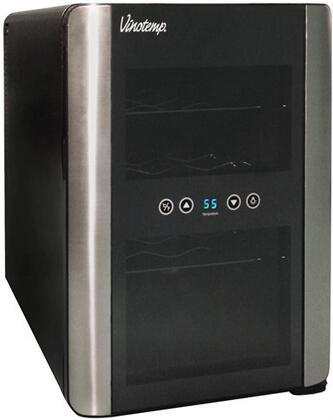 "Vinotemp VT12TEDi 14"" Freestanding Wine Cooler"