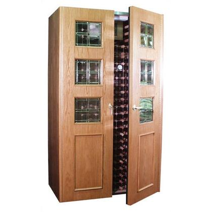 "Vinotemp VINO700EMPIREBCM 51"" Wine Cooler"