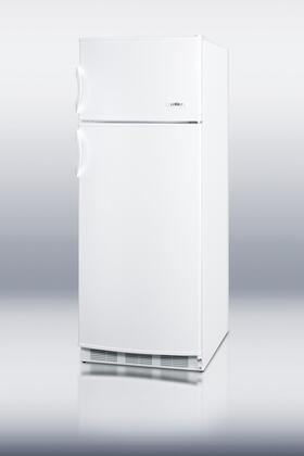 "Summit CP133 24""  White Refrigerator with 9.5 cu. ft. Capacity"