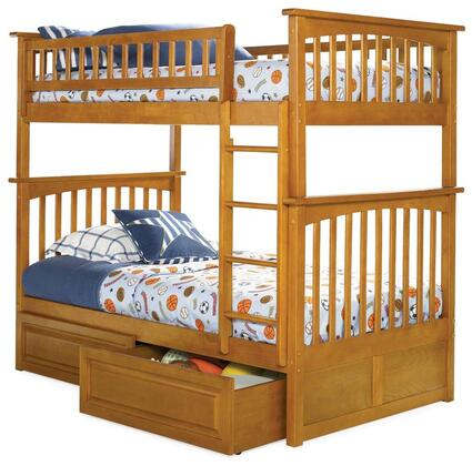 Atlantic Furniture AB55127  Twin Size Bunk Bed
