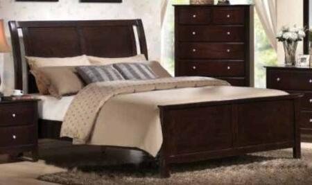 Yuan Tai TR1500Q Torino Series  Queen Size Panel Bed