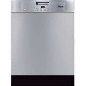 "Miele G4225SCSS 24"" Built In Full Console Dishwasher with 16 Place Settings Place Settingin Stainless Steel"