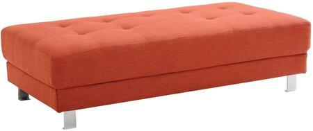 Glory Furniture G444O Milan Series Fabric Ottoman