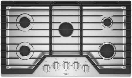 7d9e6b624c5 Whirlpool WCG97US0HS 30 Inch Gas Sealed Burner Cooktop