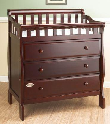 Orbelle 3143X Changing Station with 3 Drawers in