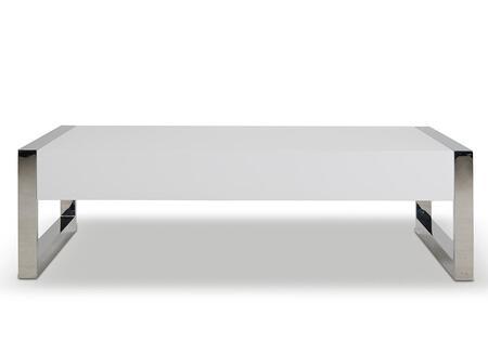 VIG Furniture VGHB115A White Modern Table
