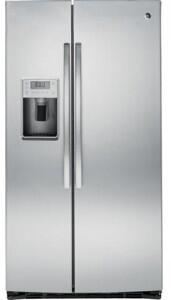 "GE Profile PSE25KSHSS 36""  Side by Side Refrigerator with 25.4 cu. ft. Capacity in Stainless Steel"