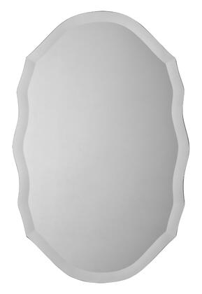 Ren-Wil MT1171  Oval Portrait Wall Mirror