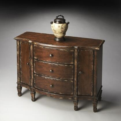 """Butler 0674228 Artists"""" Originals Series Freestanding Poplar hardwood solids, wood products and choice cherry veneers 3 Drawers Cabinet"""