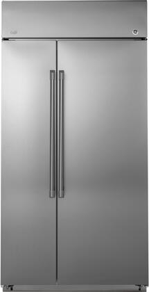 GE CAFÉ™ SERIES BUILT-IN SIDE-BY-SIDE REFRIGERATOR