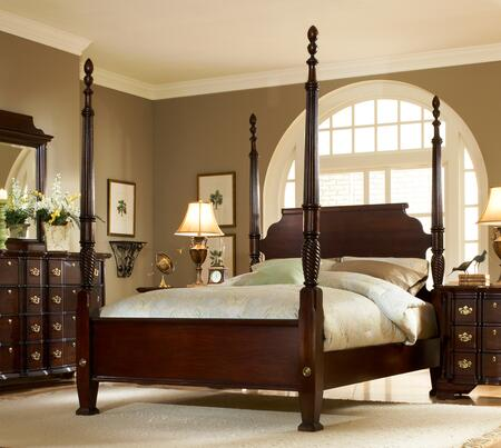 American Woodcrafters 340050POS  Queen Size Poster Bed