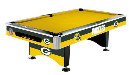 Imperial International 64-10 8' NFL Licensed Pool Table With Metal Main Beams, Chrome Corners, 100% Polyester Fabric Cloth & Laminated Cross Members
