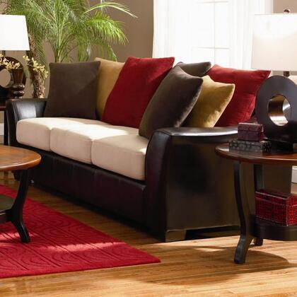 Coaster 501891  Stationary Microfiber Sofa