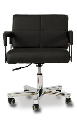 """VIG Furniture VGWCALASKAOFFCHAIRBLK 22"""" Adjustable Modern Office Chair"""