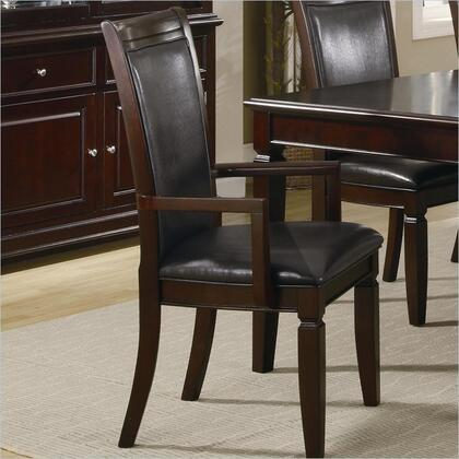 Coaster 101633 Ramona Series Contemporary Faux Leather Wood Frame Dining Room Chair