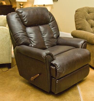 Klaussner GARRYRRC Garry Series Casual Bonded Leather Wood Frame Rocking Recliners