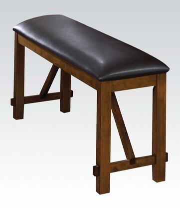 Acme Furniture 70009 Appollo Series Kitchen Armless Wood Bench