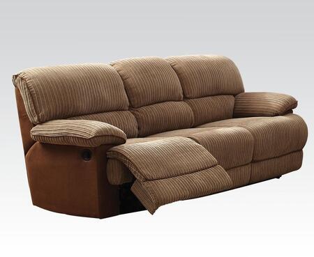 Acme Furniture 51140 Malvern Series Reclining Fabric Sofa