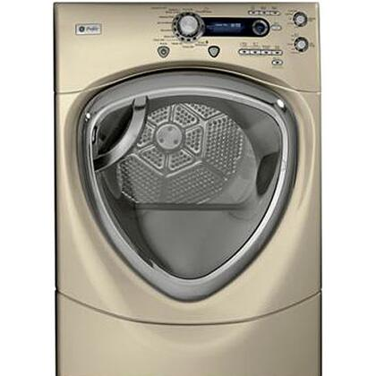 GE Profile PFDS455GLMG Profile Series  Gas Dryer, in Bisque