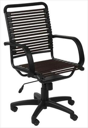 """Euro Style 02570BRN 24"""" Contemporary Office Chair"""