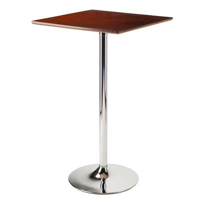 Winsome 935XX Kallie Pub Table Bar Height in Cappuccino