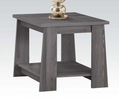 Acme Furniture 83281 Falan Series Transitional Wood Square None Drawers End Table