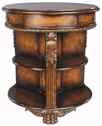 Ambella 06155900001 Traditional Round End Table