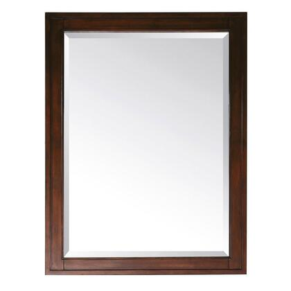 """Avanity Madison MADISON-MXX-TO X x 32"""" Rectangular Shaped Mirror with Beveled Edges and Wood Cleat at Back For Easy Hanging in a Tobacco Finish"""