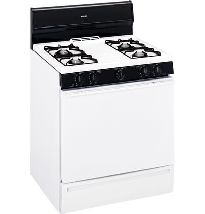 Hotpoint RGB524PPTWH  Gas Freestanding