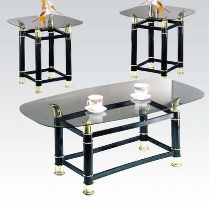 Acme Furniture 02125C Casual Living Room Table Set