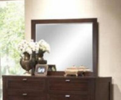 Yuan Tai AM7906M Amherst Series Rectangular Landscape Dresser Mirror