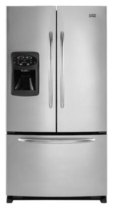 Maytag MFI2067AES  French Door Refrigerator with 20 cu. ft. Total Capacity 4 Glass Shelves