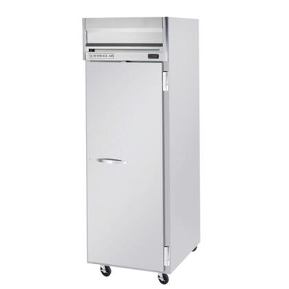 Beverage-Air HFP1-1 Horizon Series One Section [Solid Door] Reach-In Freezer, 24 cu.ft. capacity, Stainless Steel Front and Sides, Aluminum Interior