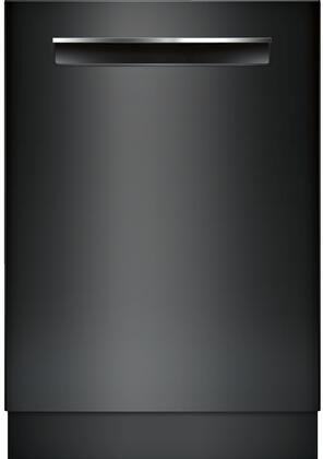 """Bosch SHP878WD 24"""" 800 Series Built-In Pocket Handle Fully Integrated Dishwasher with 16 Place Settings, 6 Cycles, 6 Options, 42 dBA Noise Level, Flexible 3rd Rack, RackMatic, and Aquastop, in"""