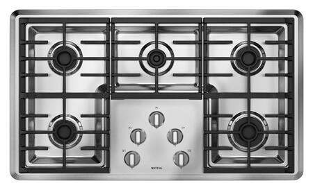 """Maytag MGC7536WS Sealed Burner 19.937"""" 34.5"""" 5.25"""" 5 Gass Cooktop 