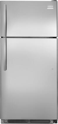 Frigidaire FPUI1888PF Professional Series Freestanding Top Freezer Refrigerator with 18.3 cu. ft. Total Capacity 4 Glass Shelves 4.1 cu. ft. Freezer Capacity
