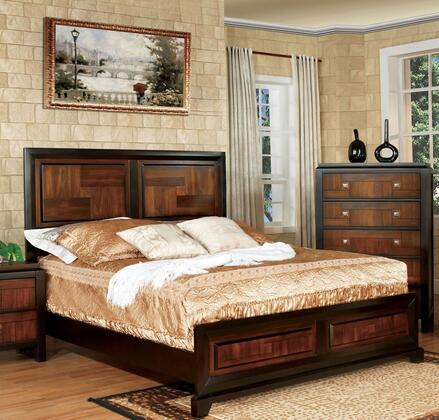 Furniture of America CM7152FBED Patra Series  Full Size Bed