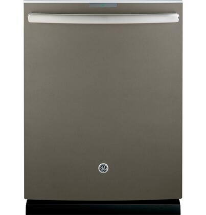 "GE Profile PDT750S 24"" Built-In Dishwasher with 16 Place Settings, Full-Length Door, Hidden Controls, Tall Tub, Ultraquiet 42 dBA, Stainless Steel Interior and Clean Sensor in"